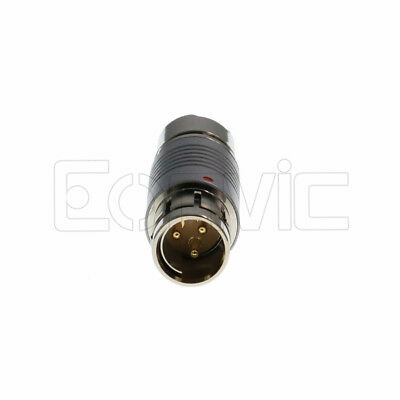 Replace Fischer S104 3 Pin Female Male Plug Connector