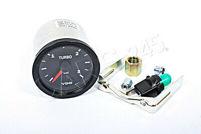 "VDO Cockpit International Turbo Boost Gauge 52mm 2"" 3bar 150-015-001K"