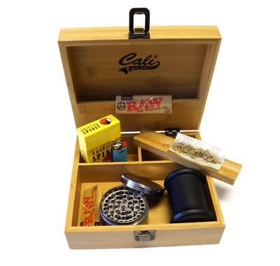 Smell Proof Container Bags Case for WEED Small Stash Jar Airtight Wood Storage