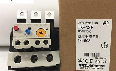 Fuji Thermal Overload Relay TK-N3P 34-50A to