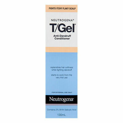 New Neutrogena T/Gel Anti Dandruff Conditioner 130mL Therapeutic Formula
