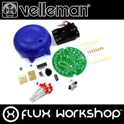 Velleman Kitchen Timer Mini Kit MK128 Unsoldered LED DIY Flux Workshop