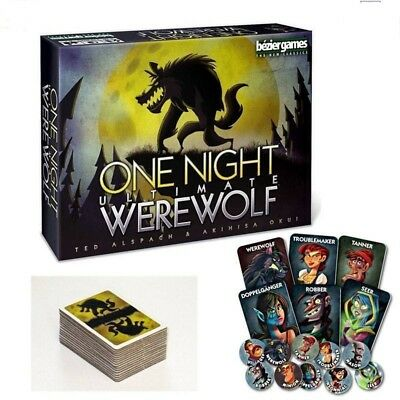 One Night Ultimate Werewolf  Board Game Brand New & Sealed Gifts Toys AU