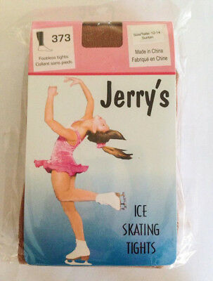 JERRY'S HEAVYWEiGHT PRACTICE FOOTLESS ICE SKATE ROLLER SKATING TIGHTS  ADULT S