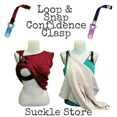 Confidence Clasp - Breastfeeding / Nursing Bra / Muslin Cloth / Cover Accessory