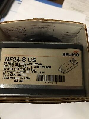 Belimo NS24-S US spring return valve actuator NIB