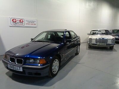 Bmw 316I Automatic -1991/j Reg - 27 Years Old -1 Record Producer Owner 46,000Mls