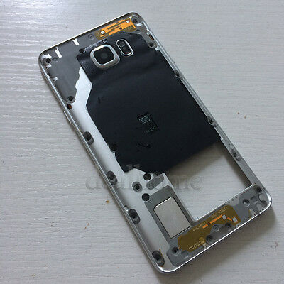 White Middle Frame Housing Bezel Chassis Case For Samsung Galaxy NOTE 5 N920F