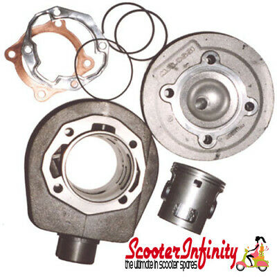 Cylinder Kit Malossi 166 (With Head) (Vespa P 125-150, PX125-150, Cosa 125-150)