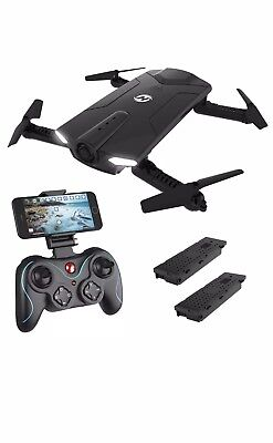 Holy Stone HS160 Shadow FPV RC Drone with 720P HD Wi-Fi Camera Live Video