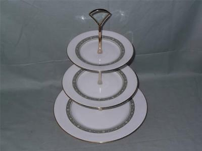 Royal Doulton Rondelay 3-Tier Hostess Cake Plate Stand H.5004