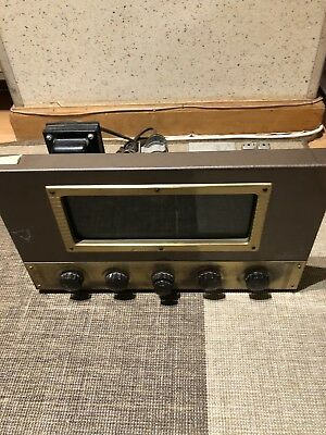 Fisher 70-RT tube mono preamp / tuner parts