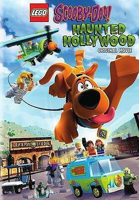Lego Scooby Doo Haunted Hollywood Original Movie DVD Only New Sealed 75 Minutes