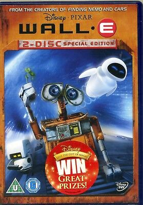 Wall-E - 2 Disc Special Edition - 2 x DVD Set