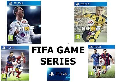 PS4 Fifa Playstation 4 Game Series - Fully Tested - FAST & FREE Delivery