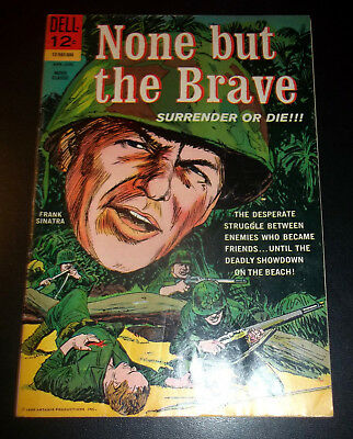 None But The Brave - 1965-Dell-Frank Sinatra-Clint Walker