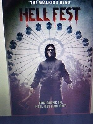 Hell Fest bluray only or 4k only (read description)1/8/19