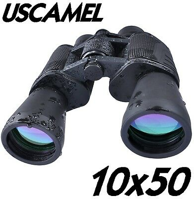 PRISMATICOS USCAMEL 10x50 BINOCULARS CAZA PROFESIONAL HUNTING BIRD HIKING WATCH