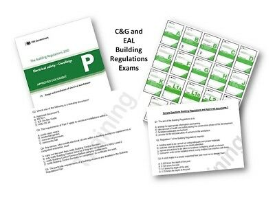 PART P CITY & GUILDS 2393 Exam Revision / Electricians Building Regulations EAL