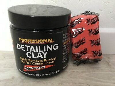 Meguiar's professional detailing clay «  aggressive « gomme de decontamination