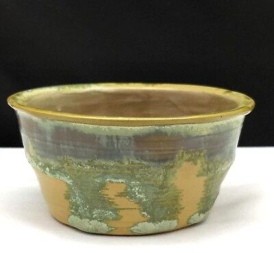 Artist Signed Stangl Hand Thrown Pottery Mini Bowl