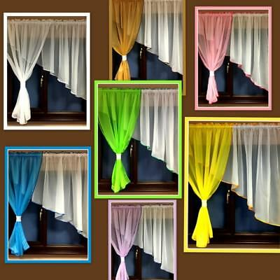 Beautiful Ready Made Bedroom Children Living Room Net Curtain