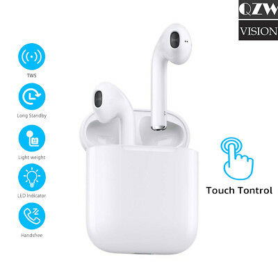 Wireless Bluetooth Earbuds Touch Headphones Earpods For iPhone 6 7 8 X Android