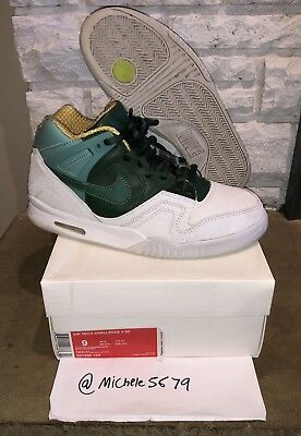 best loved 3504f 96b21 Used Nike Air Tech Challenge II 2 SP Wimbledon Size 9 621358-133