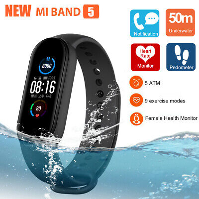 Xiaomi Mi Band 4 OLED Smart Wristband Watch Heart Rate Monitor 50M Waterproof US
