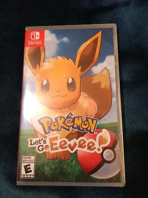 NINTENDO SWITCH - POKEMON LETS GO Eevee - Brand New Sealed!
