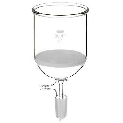 StonyLab Borosilicate Glass Buchner Filtering Funnel with Coarse Frit, 105mm Dis