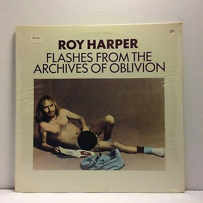Roy Harper - Flashes From the Archives of Oblivion LP - Chrysalis - SEALED