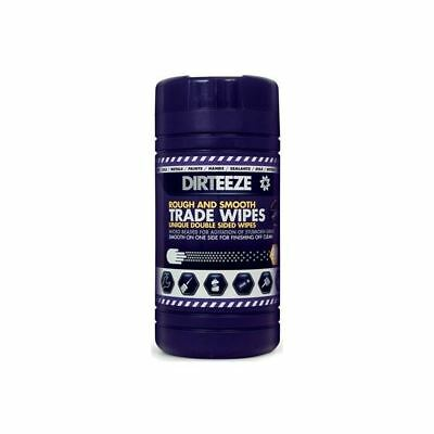 Dirteeze Micro-Beaded Heavy-Duty Trade Wipes - Tub Of 80 - Deeze01 Top Quality