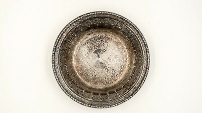 Reed and Barton STERLING SILVER BOWL Antique ornate engraved 116gm Lux Glam 6in
