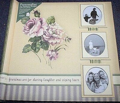 MEMORY KEEPER ALBUM/SCRAPBOOK - GRANDMA with themed Pages  NEW