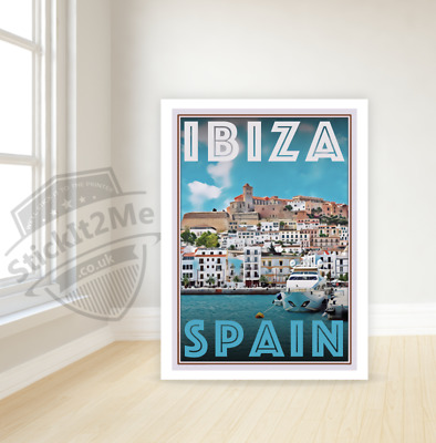 Art Deco Travel Posters Lovely Vintage Retro Holiday Tourism *Unique* Ibiza