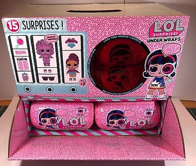 LOL Surprise Series 4 Under Wraps Capsule (12) Dolls FULL BOX IN HAND  Eye Spy