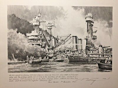 Pearl Harbor- December 7, 1941 Limited Edition Print #347/750