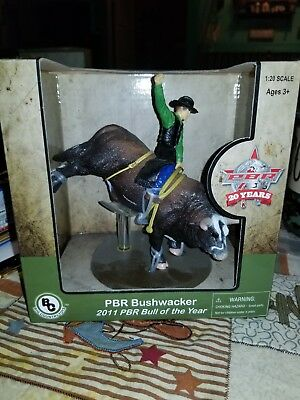 Big Country Toys PBR Bushwacker 2011 Bull of the Year #408 Rodeo Animal Figurine