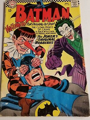 Batman #186 (Nov 1966, DC)