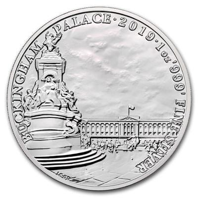2019 1 oz Great Britain Silver Landmarks of Britain (Buckingham Palace) BU