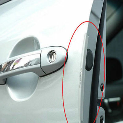 8pc/set Door Edge Guard Bar Strip Car Crash Bumper Anti-rub Protector Hot Sale