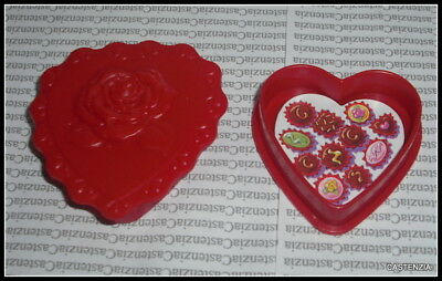 Heart Barbie Doll Mattel Valentine Red Heart Of Chocolates Accessory For Diorama