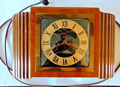 """Telechron Vintage Electric Clock 4B79 """"OLYMPIC""""  A nice clock smooth and quiet"""