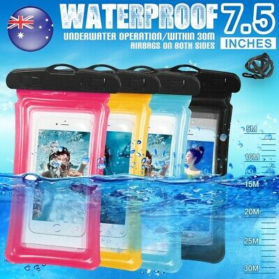 IPX8 Floating Waterproof Phone Case Pouch Dry Bag for iPhone XS MAX XR 8 7 6 5 4
