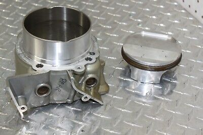 09 Ducati 1198 S Engine Motor Rear Cylinder Barrel With Piston (P-28)