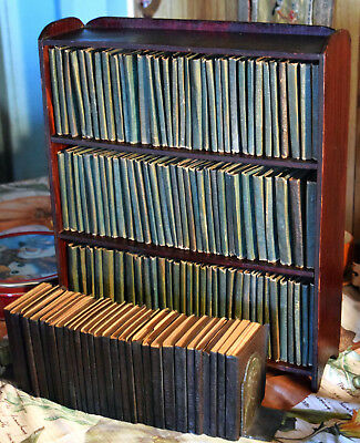 SET OF 131 Little Leather Library, including 30 Vol. HOLY BIBLE, SHELF and BKNDS