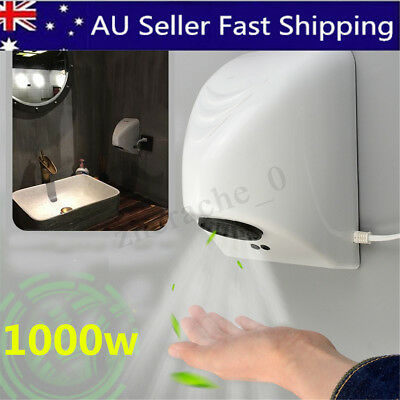 Electric Wall Mounted Automatic Hand Dryer High Speed Hand Dryer Washroom 1000W