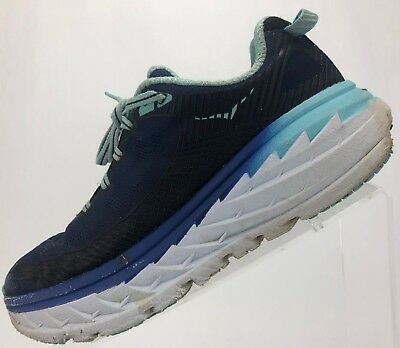 promo code 329fb c2c00 HOKA ONE ONE Bondi 5 - Road Running Training Sneakers Women's US 6  Blue/Black