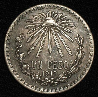 1919, Peso from Mexico.  No Reserve!!!